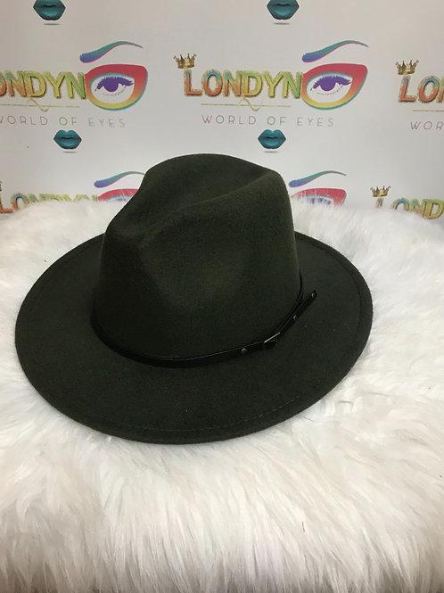 Dark Green Fashion Hats