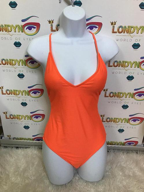 Londyn (orange) 1 piece swimsuits