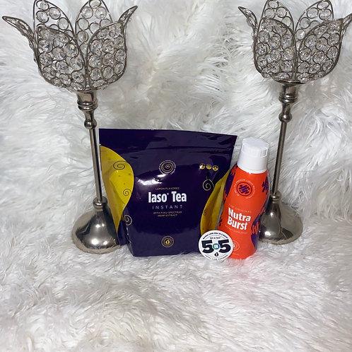Iaso detox tea kit with nutra burst