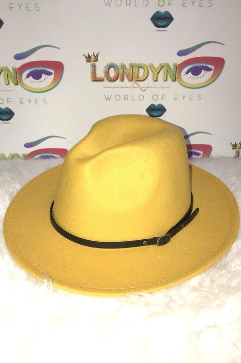 Mustard Yellow Fashion Hat