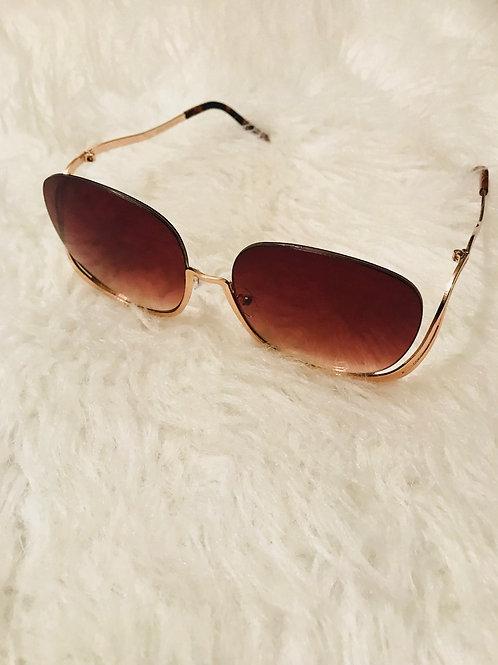 Denise Mary Rimless sunglasses