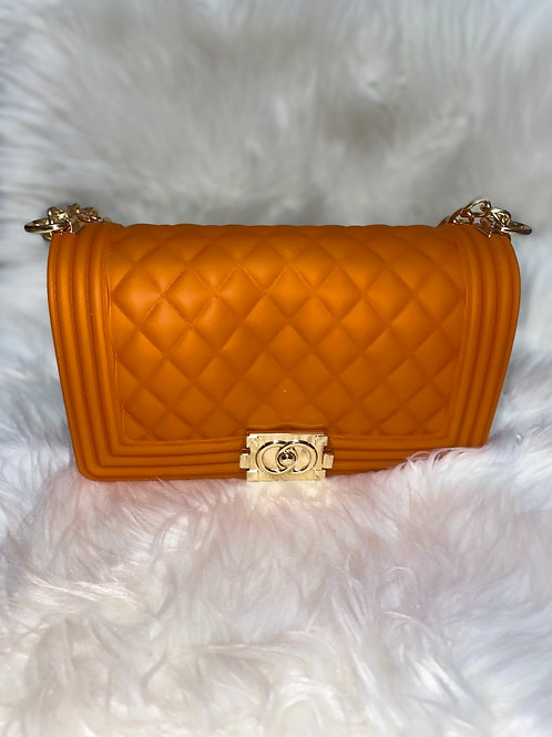 Fashionista orange purse