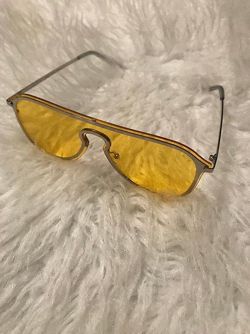 Yellow Katey Sunglasses