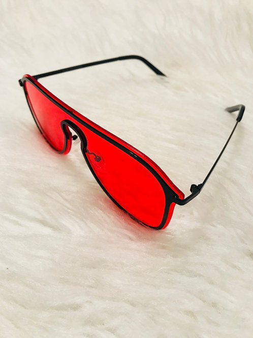 Red Katey Sunglasses