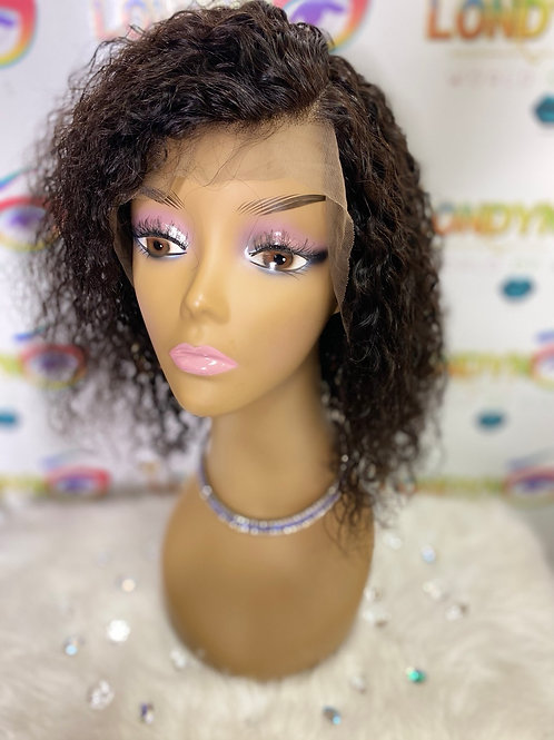 "Water Wave 12"" Lace front wig"