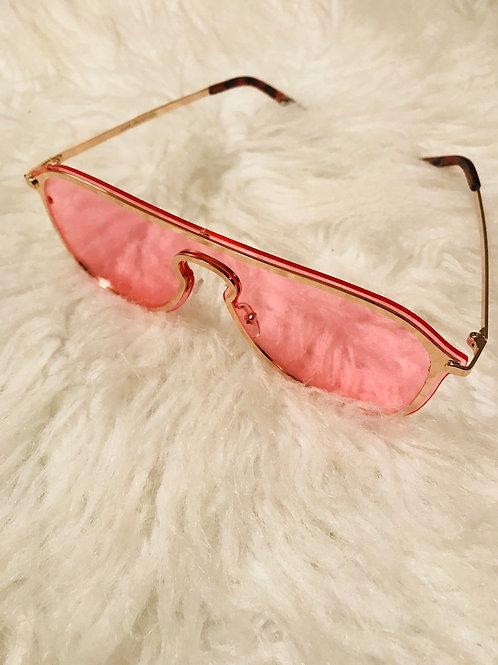 Pink Katey Sunglasses