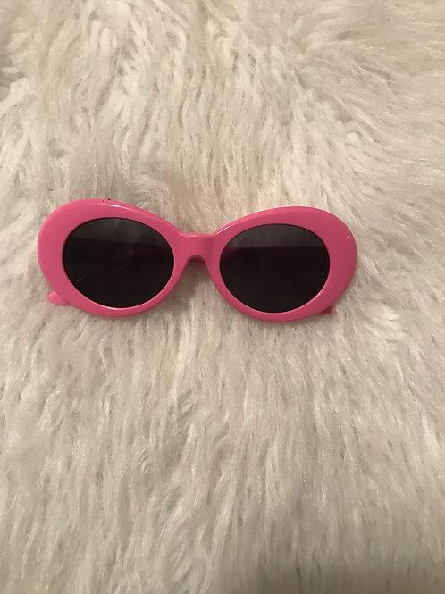 Round the way Girl sunglasses pink