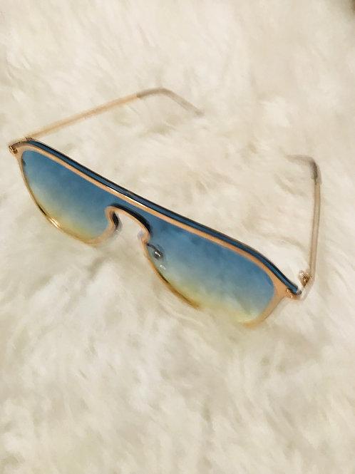 Blue Katey Sunglasses