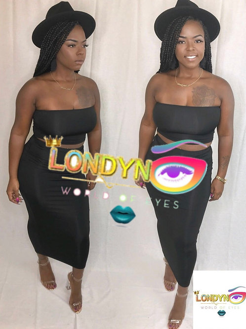 Two piece ladies night set