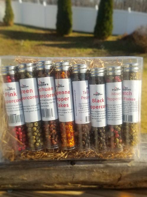 Spice Gift Set-Peppercorns & Pepper Flakes