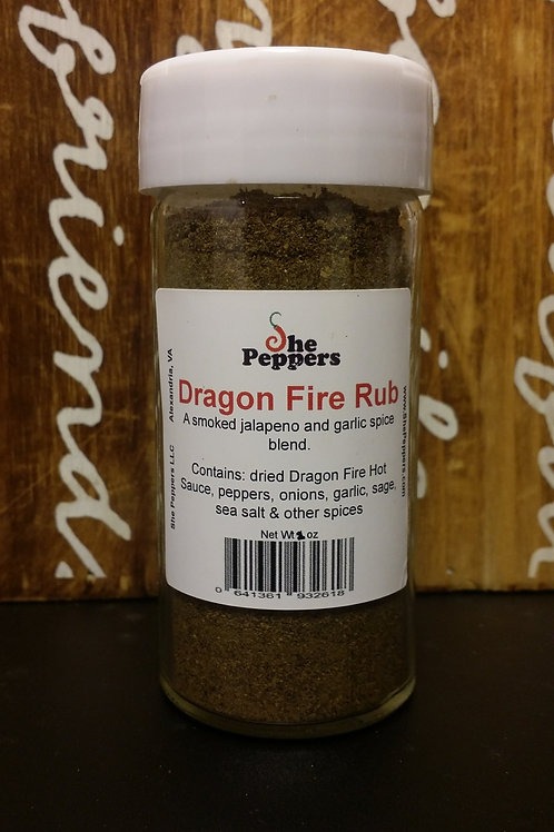 Dragon Fire Rub