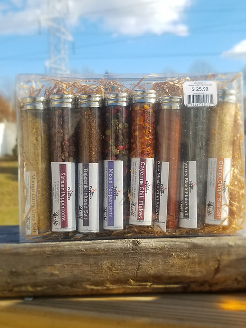 Spice Gift Set-Mixed Salt & Pepper