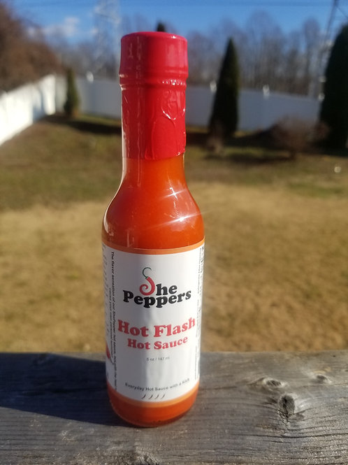 Hot Flash Hot Sauce