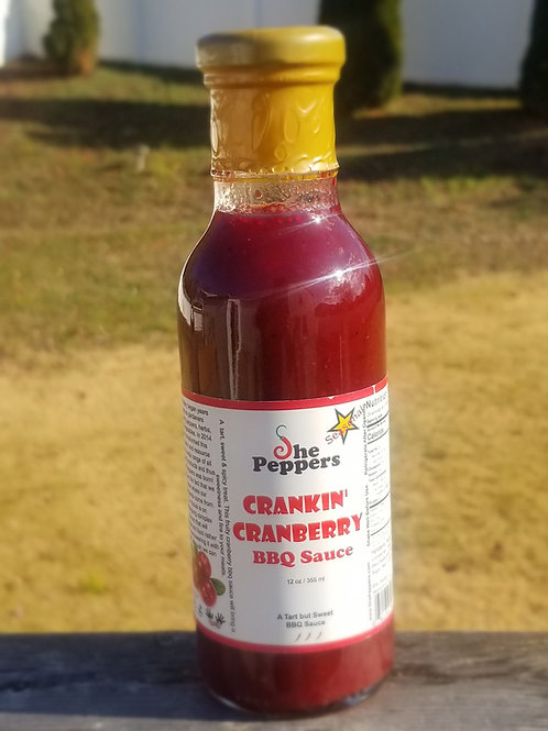 Crankin Cranberry BBQ Sauce