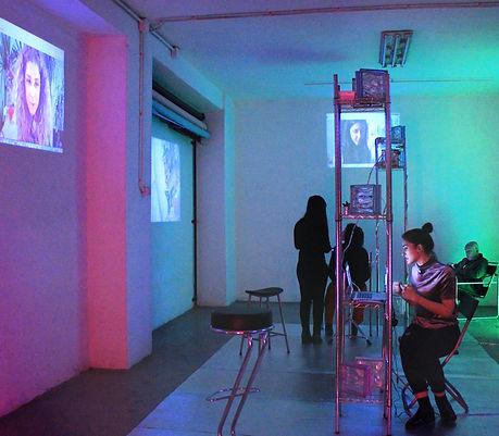paola pinna paolapinna art artist arte artista digitale digital 3d curatorial next level fiore cao letizia mari milano studi festival