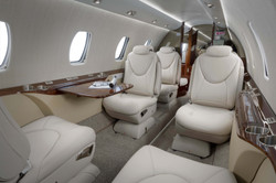 Citation XLS+ Interior