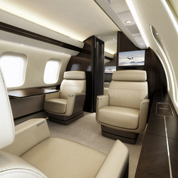 Global Express Club Seating