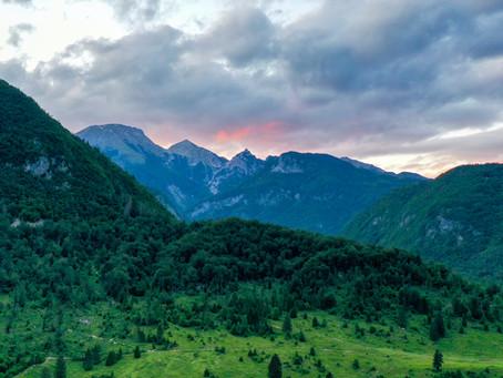 A return to the mountains - Veliki Draški vrh