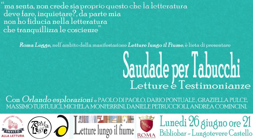 INVITO SAUDADE TABUCCHI