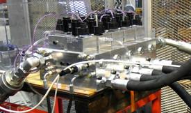 Stacked valve blocks