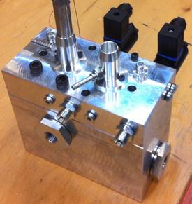 2 pc. valve block