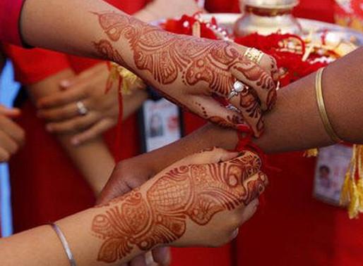 La tradición de Rakhi