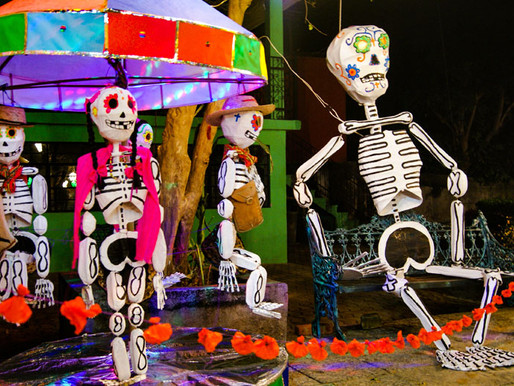 Día de muertos, una celebración de vida, Tepoztlán y su tradición del día de muertos
