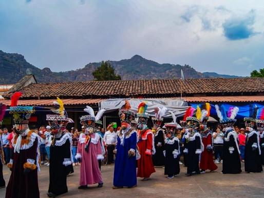 Conoce las fiestas tradicionales de Tepoztlán