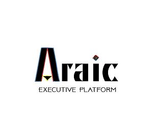 Araic Executive Platform Logo [White Bac