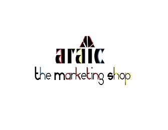 Araic Marketing Shop Logo [White Back].p