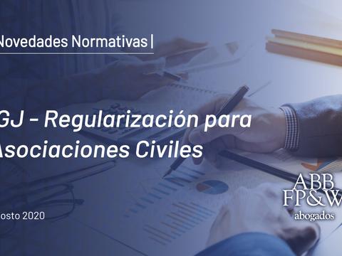 IGJ – Regularización para Asociaciones Civiles