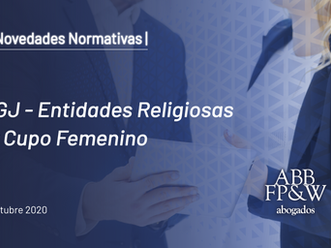 IGJ – Entidades Religiosas y Cupo Femenino