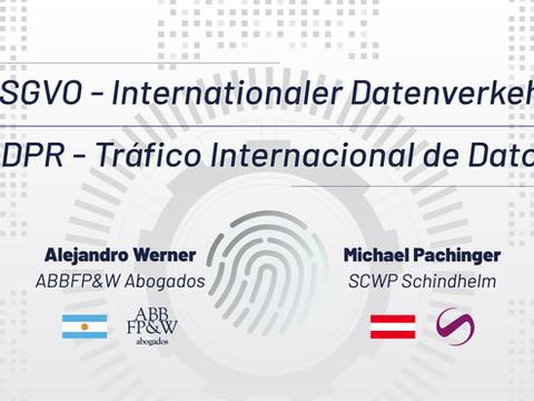 Tráfico Internacional de Datos - Internationaler Datenverkehr