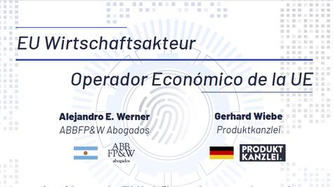 EU Wirtschaftsakteur // Operador Económico de la UE