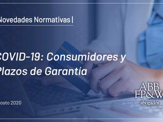COVID-19: Consumidores y Plazos de Garantías