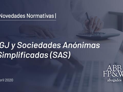 IGJ y Sociedades Anónimas Simplificadas (SAS)