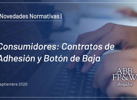 Consumidores: Contratos de Adhesión y Botón de Baja