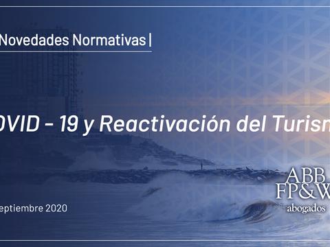COVID-19 y Reactivación del Turismo