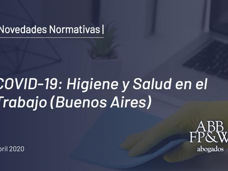 """COVID-19: """"Protocolo de Higiene y Salud en el Trabajo"""""""