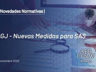 IGJ – Nuevas Medidas para SAS