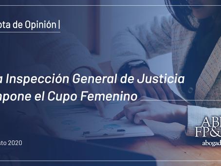 La IGJ impone el Cupo Femenino en los Órganos de Administración y Fiscalización