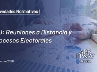 IGJ: Reuniones a Distancia y Procesos Electorales
