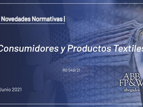 Consumidores y Productos Textiles