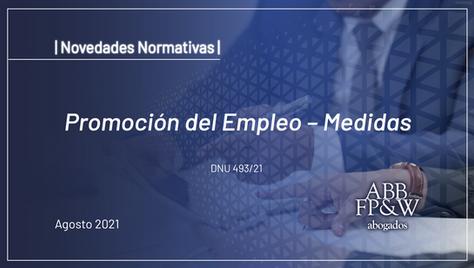 Promoción del Empleo - Medidas