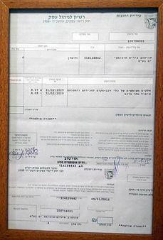 רישיון לניהול עסק רחובות