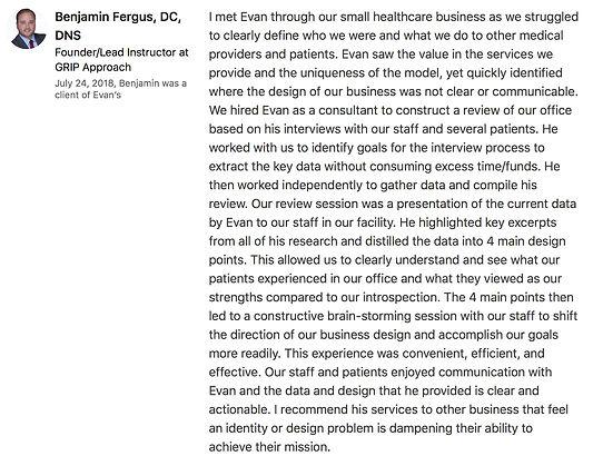 Dr Fergus Linkedin Recommendation.jpg
