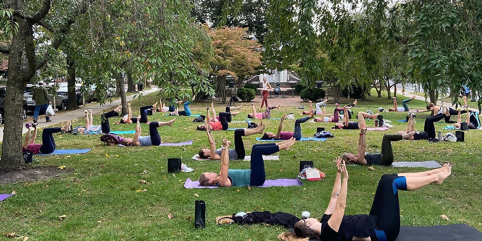 Barre3 Outdoor Fitness Class