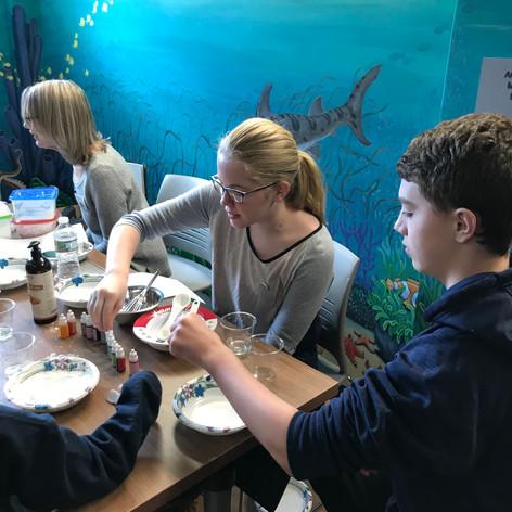 Teen Volunteers at Makers Day