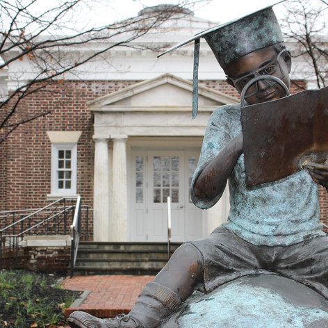 Library Statue