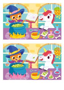 Gabriele Tafuni illustration unicorn